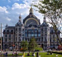 Exterior de l'Estació Central d'Anvers