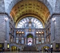 Hall de l'Estació Central d'Anvers