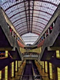 Interior de l'Estació Central d'Anvers